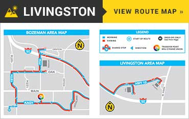 livingston-route-map